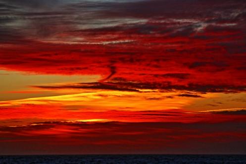 Sunset February 18, 2014
