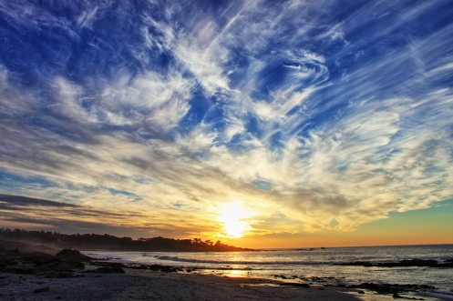 Sunset Pebble Beach